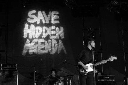【專訪】樂隊在音樂節台上穿「Save Hidden Agenda」T裇,台下的我們該知道什麼?