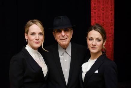 除了Marianne,Leonard Cohen音樂背後還有她們