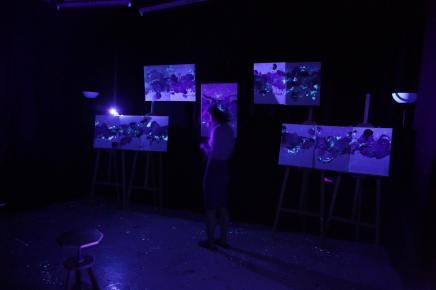 音樂人x畫家,打算把Live House變成語言到不了的地方