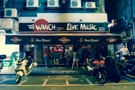 The Wanch:搖滾酒吧 x老香港